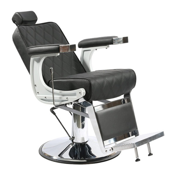Continental S chair for barbers in black color
